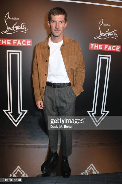 Gwilym Lee attends the LFW opening party hosted by Christian Louboutin The Face at Jack Solomons on September 13 2019 in London England