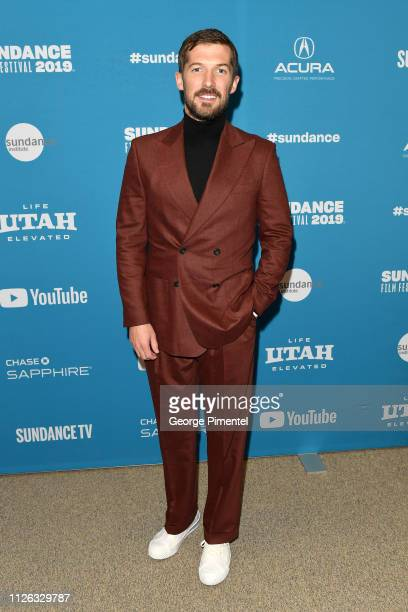 Gwilym Lee attends the Top End Wedding Premiere during the 2019 Sundance Film Festival at Eccles Center Theatre on January 30 2019 in Park City Utah