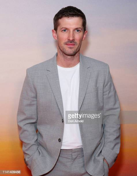 Gwilym Lee attends the Top End Wedding Sydney Premiere on April 09 2019 in Sydney Australia