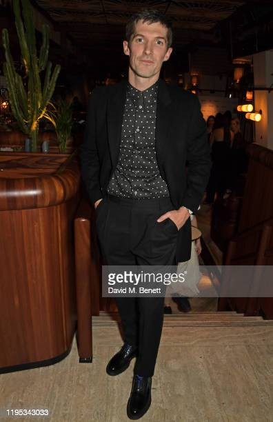 Gwilym Lee attends the Vanity Fair EE Rising Star Award Party ahead of the 2020 EE BAFTAs at The Standard London on January 22 2020 in London England