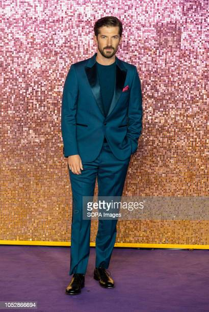 Gwilym Lee attends the World Premiere of 'Bohemian Rhapsody' at SSE Arena Wembley
