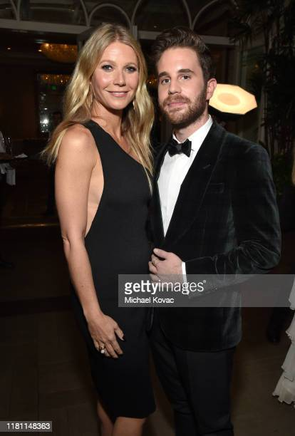 Gwyneth Paltrow and Ben Platt attend ELLE's 26th Annual Women In Hollywood Celebration Presented By Ralph Lauren And Lexus at The Four Seasons Hotel...