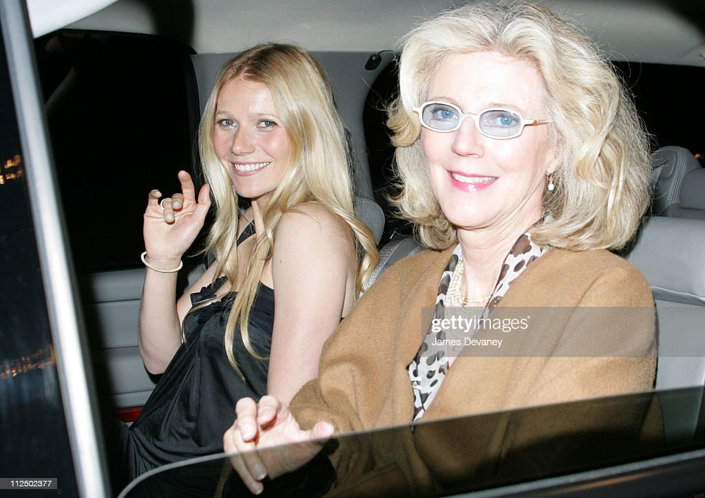 Gwyneth Paltrow and Blythe Danner Sighting in New York City - May 4, 2005