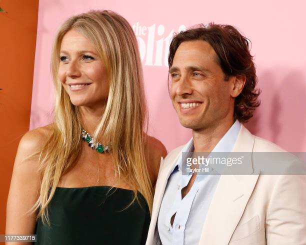 """Gwyneth Paltrow and Brad Falcuk attend the premiere of Netflix's """"The Politician"""" at DGA Theater on September 26, 2019 in New York City."""