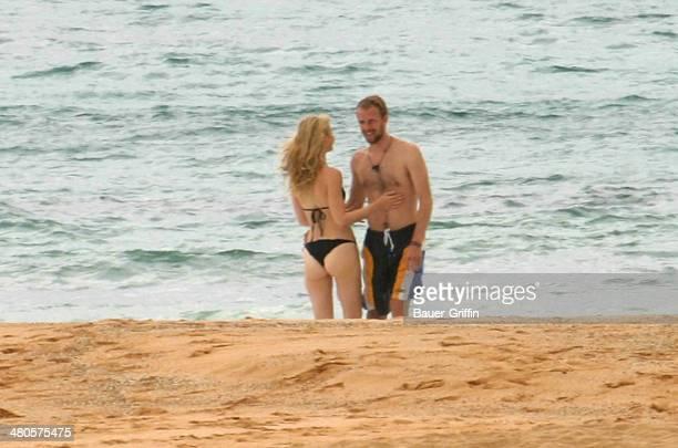 Gwyneth Paltrow and Chris Martin are seen on May 01 2002 in Kauai Hawaii