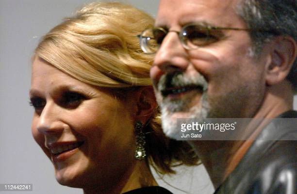 Gwyneth Paltrow and Jon Avnet during 17th Annual Tokyo International Film Festival Sky Captain and World of Tomorrow Stage Greeting at Virgin Toho...