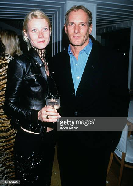 Gwyneth Paltrow and Michael Bolton during The 71st Annual Academy Awards Miramax PreOscar Party at Beverly Wilshire Hotel in Beverly Hills California...