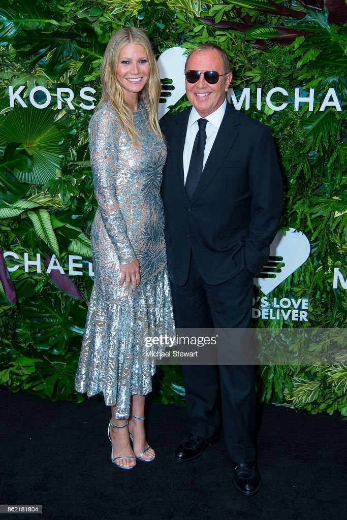 Gwyneth Paltrow (L) and Michael Kors attend the 11th Annual God's Love We Deliver Golden Heart Awards at Spring Studios on October 16, 2017 in New York City.