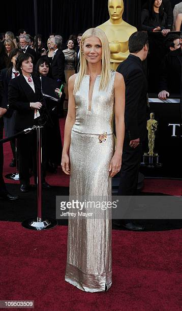 Gwyneth Paltrow arrives at the 83rd Annual Academy Awards held at the Kodak Theatre on February 27 2011 in Hollywood California