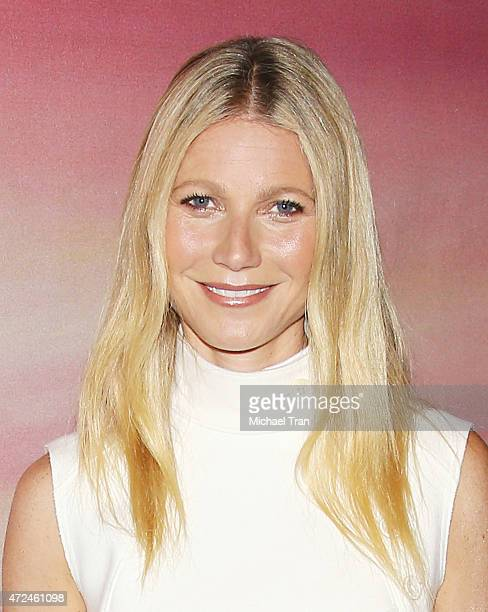 Gwyneth Paltrow arrives at the Los Angeles premiere of 'I'll See You In My Dreams' held at The London Screening Room on May 7 2015 in West Hollywood...