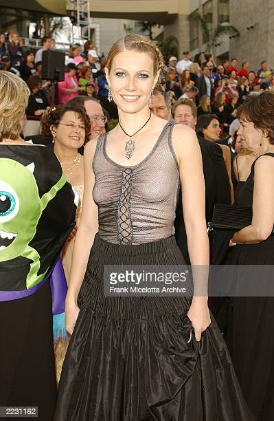 Gwyneth Paltrow arrives for the 74th Annual Academy Awards held at the Kodak Theatre in Hollywood Ca March 24 2002 2002ImageDirect CRFrank...