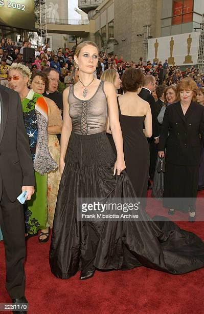 Gwyneth Paltrow arrives for the 74th Annual Academy Awards held at the Kodak Theatre in Hollywood, Ca., March 24, 2002. 2002ImageDirect CR:Frank...