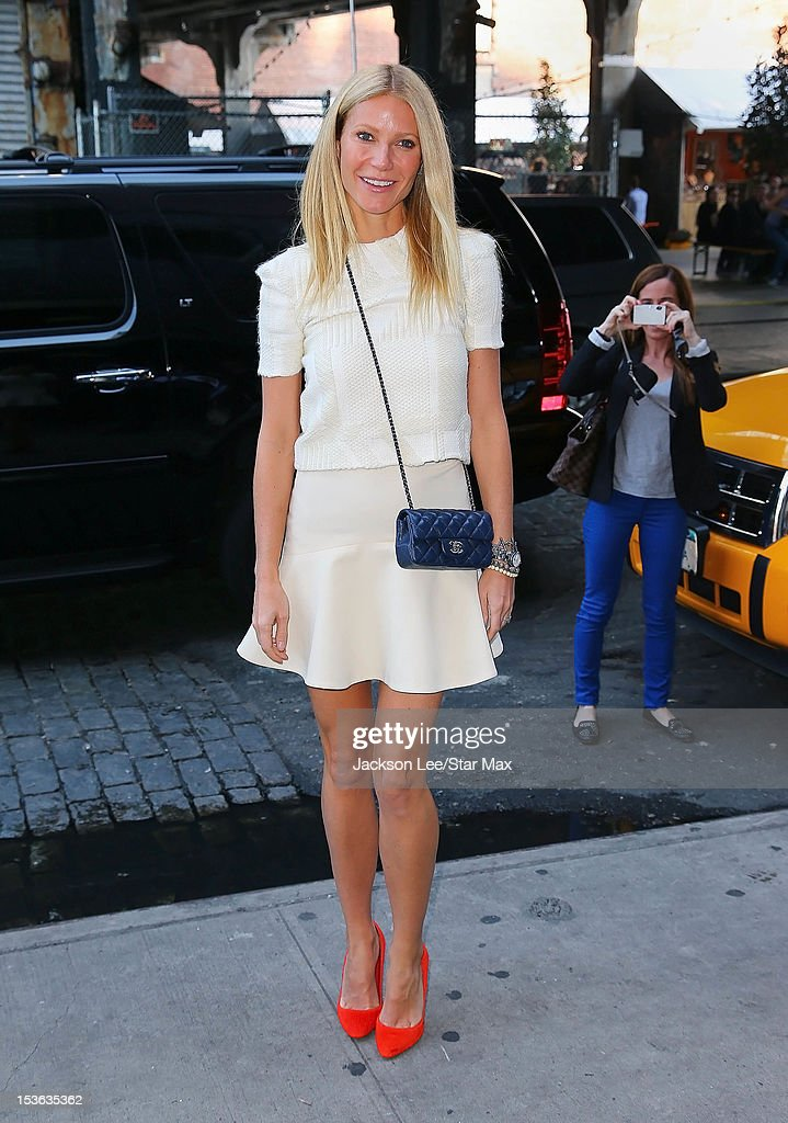Gwyneth Paltrow as seen on October 5, 2012 in New York City.