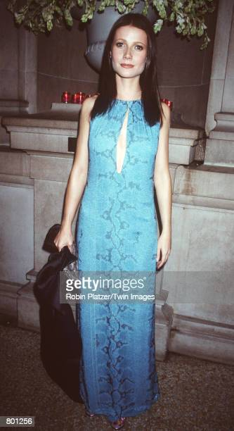 Gwyneth Paltrow at the Metropolitan Museum of Art for the Costume Institute Gala December 6 1999