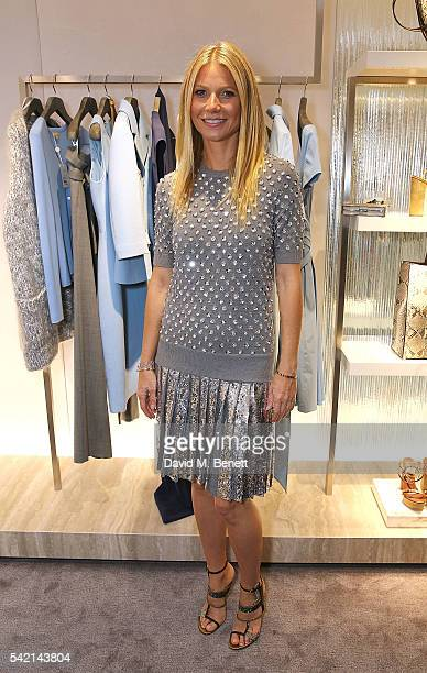 Gwyneth Paltrow attends a cocktail party hosted by Michael Kors in celebration of their new Regent Street Flagship Store opening at the Michael Kors...
