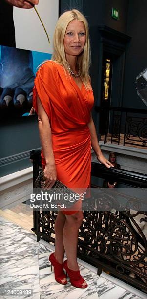 Gwyneth Paltrow attends a dinner hosted by Coach in honour of Gwyneth Paltrow at The Arts Club on September 7 2011 in London England