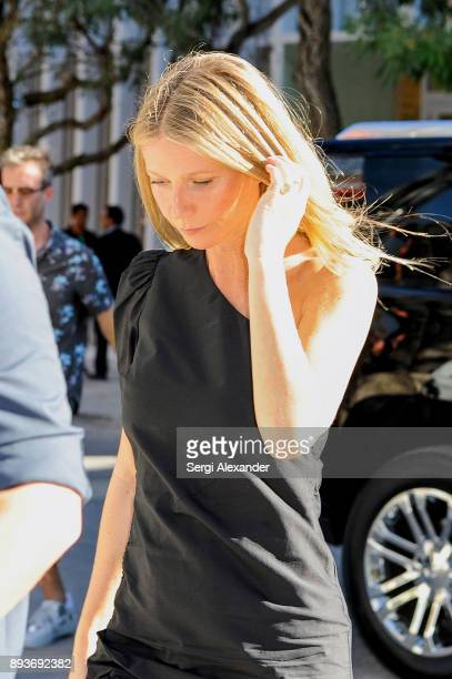 Gwyneth Paltrow attends book signing at Goop pop up in Miami Design District on December 15 2017 in Miami Florida