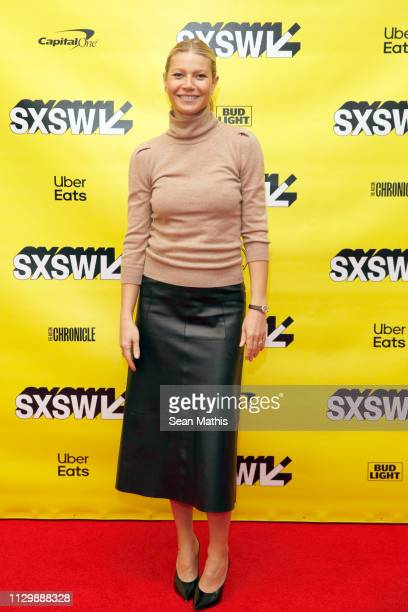 Gwyneth Paltrow attends Featured Session Gwyneth Paltrow with Poppy Harlow during the 2019 SXSW Conference and Festivals at Austin Convention Center...