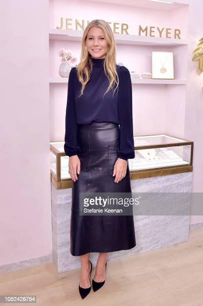 Gwyneth Paltrow attends Jennifer Meyer Celebrates First Store Opening in Palisades Village At The Draycott With Gwyneth Paltrow And Rick Caruso on...