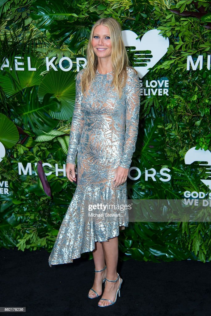 Gwyneth Paltrow attends the 11th Annual God's Love We Deliver Golden Heart Awards at Spring Studios on October 16, 2017 in New York City.