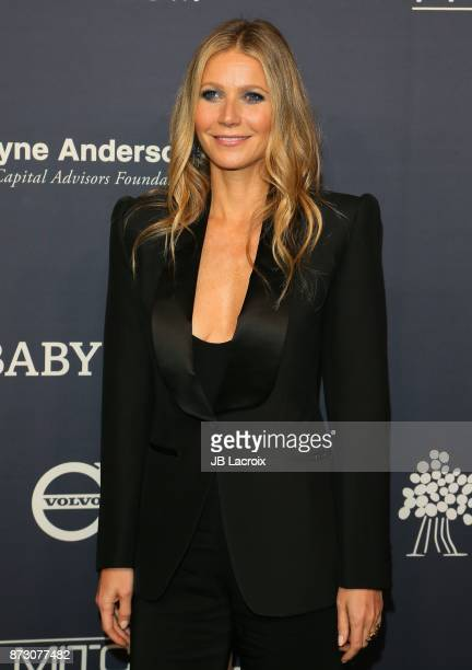 Gwyneth Paltrow attends the 2017 Baby2Baby Gala on November 11, 2017 in Los Angeles, California.