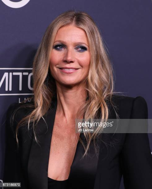 Gwyneth Paltrow attends the 2017 Baby2Baby Gala on November 11 2017 in Los Angeles California