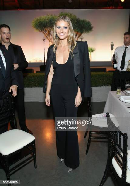 Gwyneth Paltrow attends The 2017 Baby2Baby Gala presented by Paul Mitchell on November 11 2017 in Los Angeles California