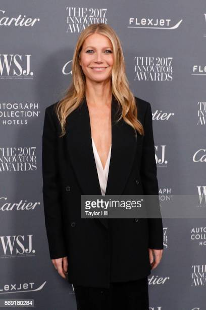 Gwyneth Paltrow attends the 2017 WSJ Magazine Innovator Awards at Museum of Modern Art on November 1 2017 in New York City