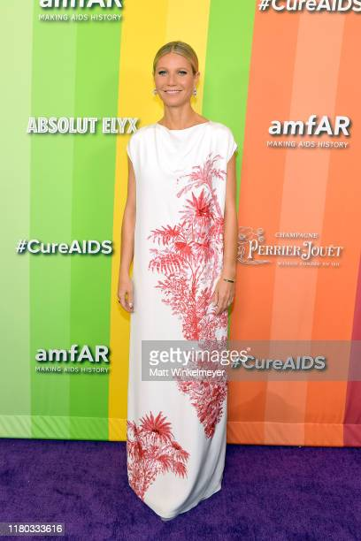Gwyneth Paltrow attends the 2019 amfAR Gala Los Angeles at Milk Studios on October 10, 2019 in Los Angeles, California.