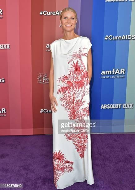Gwyneth Paltrow attends the 2019 amfAR Gala Los Angeles at Milk Studios on October 10, 2019 in Los Angeles, California.