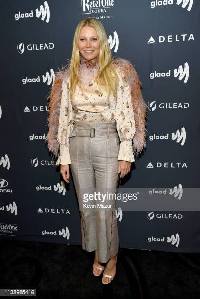 Gwyneth Paltrow attends the 30th Annual GLAAD Media Awards Los Angeles at The Beverly Hilton Hotel on March 28 2019 in Beverly Hills California