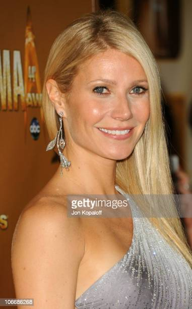 Gwyneth Paltrow attends the 44th Annual CMA Awards at the Bridgestone Arena on November 10 2010 in Nashville Tennessee