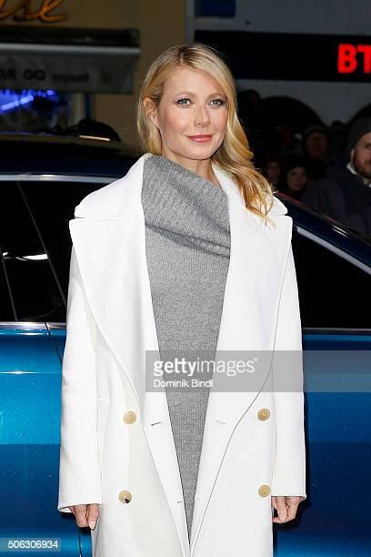 Gwyneth Paltrow attends the Audi Night 2016 at Hotel zur Tenne on January 22 2016 in Kitzbuehel Austria