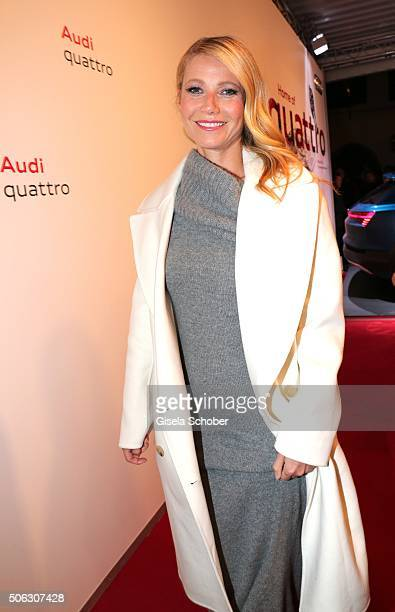 Gwyneth Paltrow attends the AUDI Night 2016 during Hahnenkamm Race Weekend on January 22 2016 in Kitzbuehel Austria