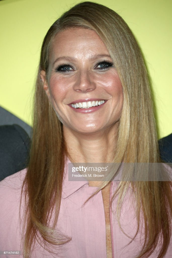 Gwyneth Paltrow attends the celebration of the re-opening of the LACOSTE Rodeo Drive Boutique at Sheats Goldstein Residence on November 7, 2017 in Los Angeles, California.
