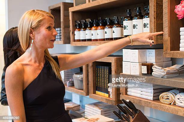 Gwyneth Paltrow attends the goop pop Dallas Launch Party in Highland Park Village on November 20, 2014 in Dallas, Texas.