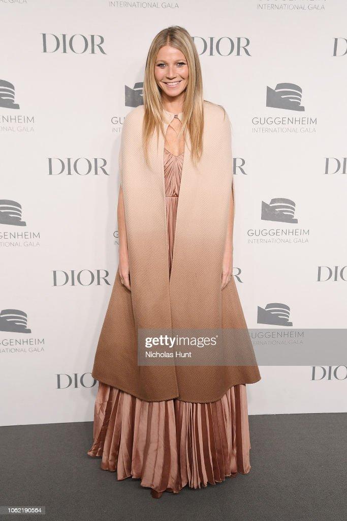 Guggenheim International Gala Dinner, Made Possible By Dior : News Photo