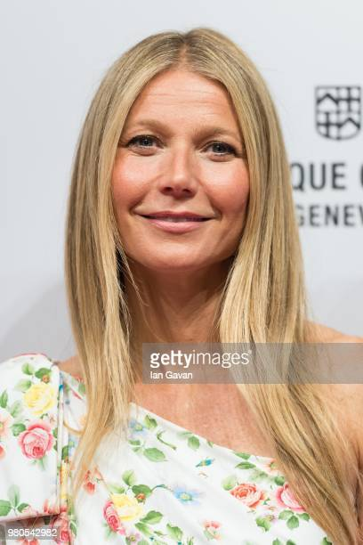 Gwyneth Paltrow attends the Gwyneth Paltrow x Frederique Constant Ladies Automatic Launch at the Design Museum on June 21 2018 in London England