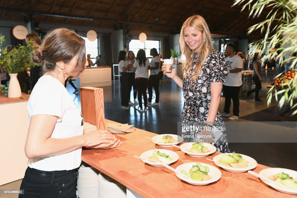 In goop Health Summit : News Photo
