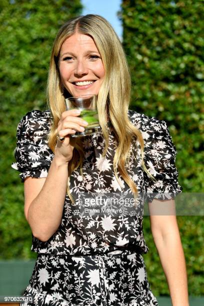 Gwyneth Paltrow attends the In goop Health Summit at 3Labs on June 9, 2018 in Culver City, California.
