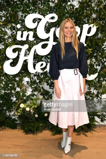 Gwyneth Paltrow attends the In goop Health Summit New York 2019 at Seaport District NYC on March 09 2019 in New York City