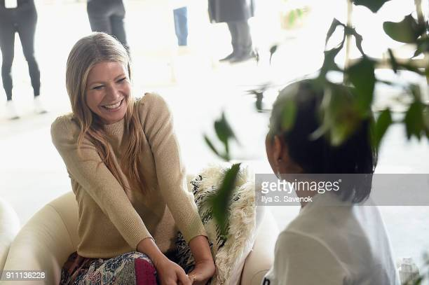Gwyneth Paltrow attends the in goop Health Summit on January 27 2018 in New York City