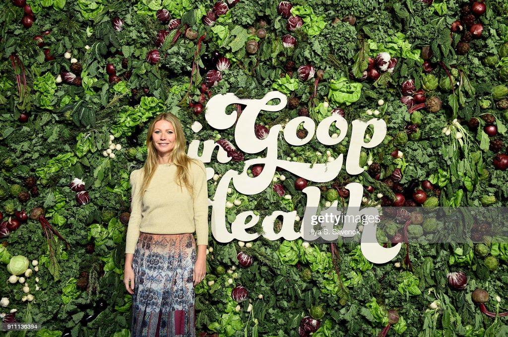 in goop Health Summit : News Photo