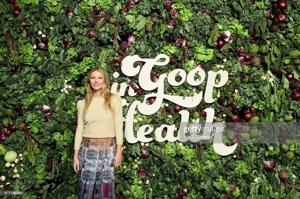 Gwyneth Paltrow attends the in goop Health Summit on January 27, 2018 in New York City.