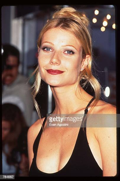 Gwyneth Paltrow attends the premiere of Emma July 22 1996 in New York City This adaptation of Jane Austen's novel won an Academy Award for best...