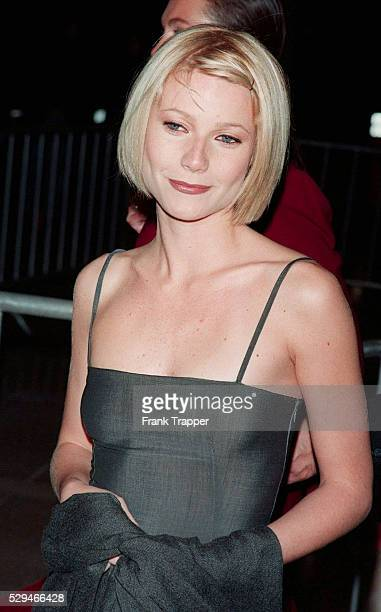 Gwyneth Paltrow attends the premiere of her film Great Expectations, a film by Alfonso Cuaron, at the Cineplex Odeon Century Plaza.