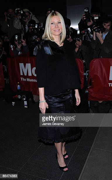 """Gwyneth Paltrow attends the premiere of """"Valentino: The Last Emperor"""" at The Roy and Niuta Titus Theater at The Musuem of Modern Art on March 17,..."""