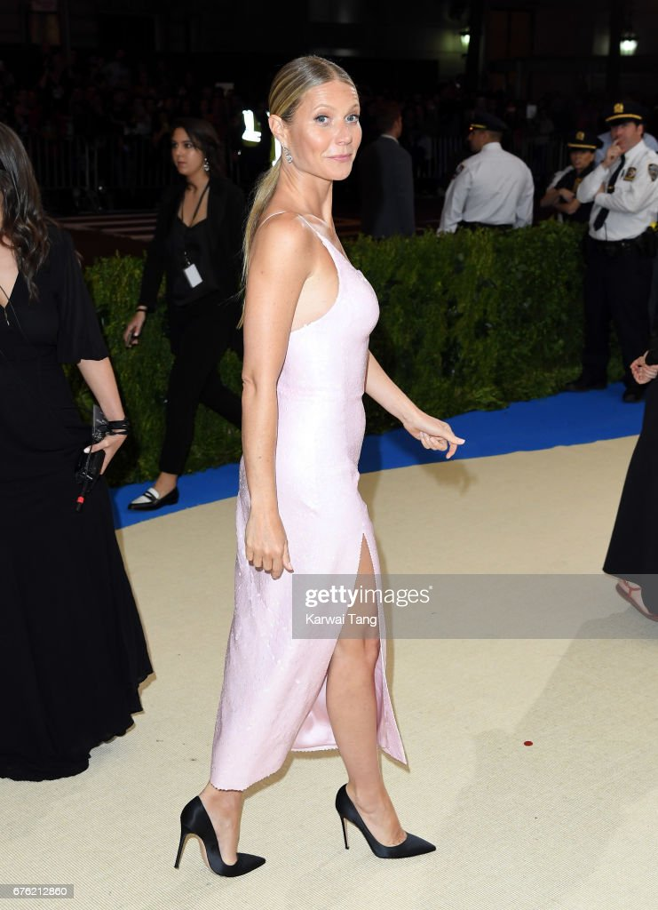 Gwyneth Paltrow attends the 'Rei Kawakubo/Comme des Garcons: Art Of The In-Between' Costume Institute Gala at the Metropolitan Museum of Art on May 1, 2017 in New York City.