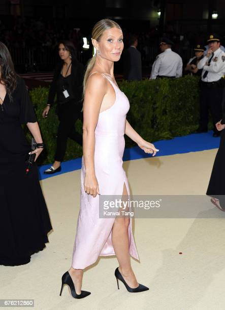 Gwyneth Paltrow attends the 'Rei Kawakubo/Comme des Garcons Art Of The InBetween' Costume Institute Gala at the Metropolitan Museum of Art on May 1...