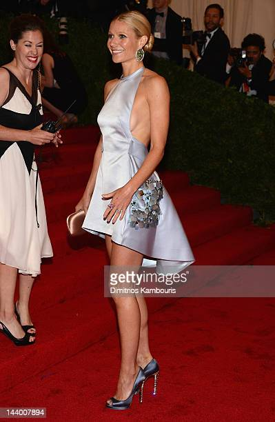 Gwyneth Paltrow attends the 'Schiaparelli And Prada Impossible Conversations' Costume Institute Gala at the Metropolitan Museum of Art on May 7 2012...